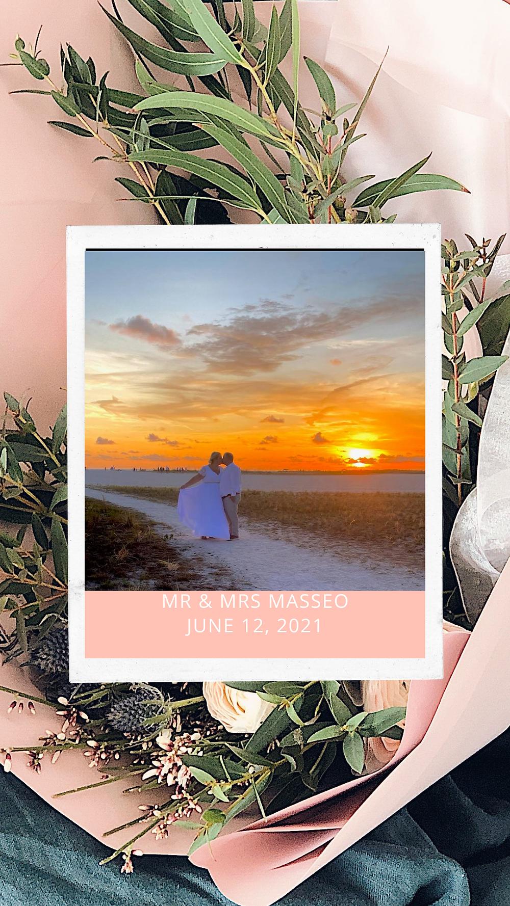 Beach Wedding-Treasure Island Florida