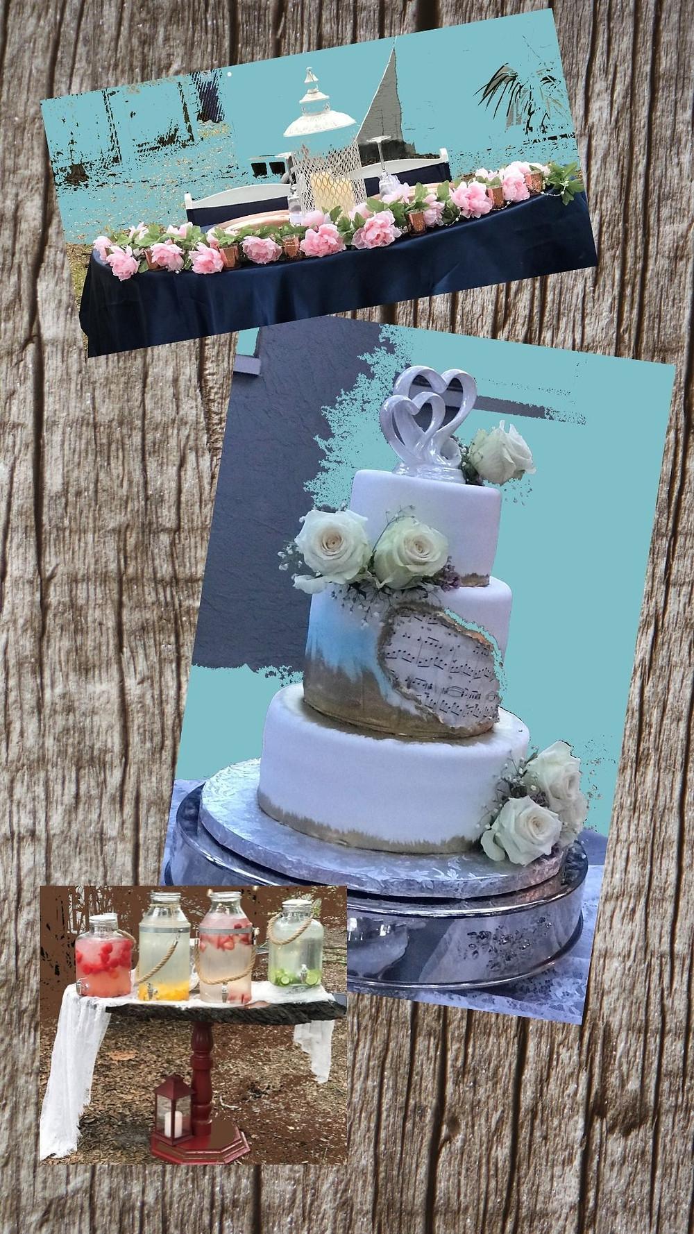 Country Wedding Taste-Backyard Wedding