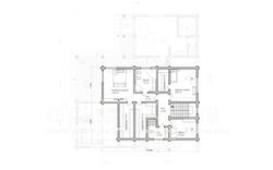 коттедж СОКОЛОВ план 2-го этажа