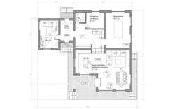 ШАЛЕ КАТРИН план 1-го этажа