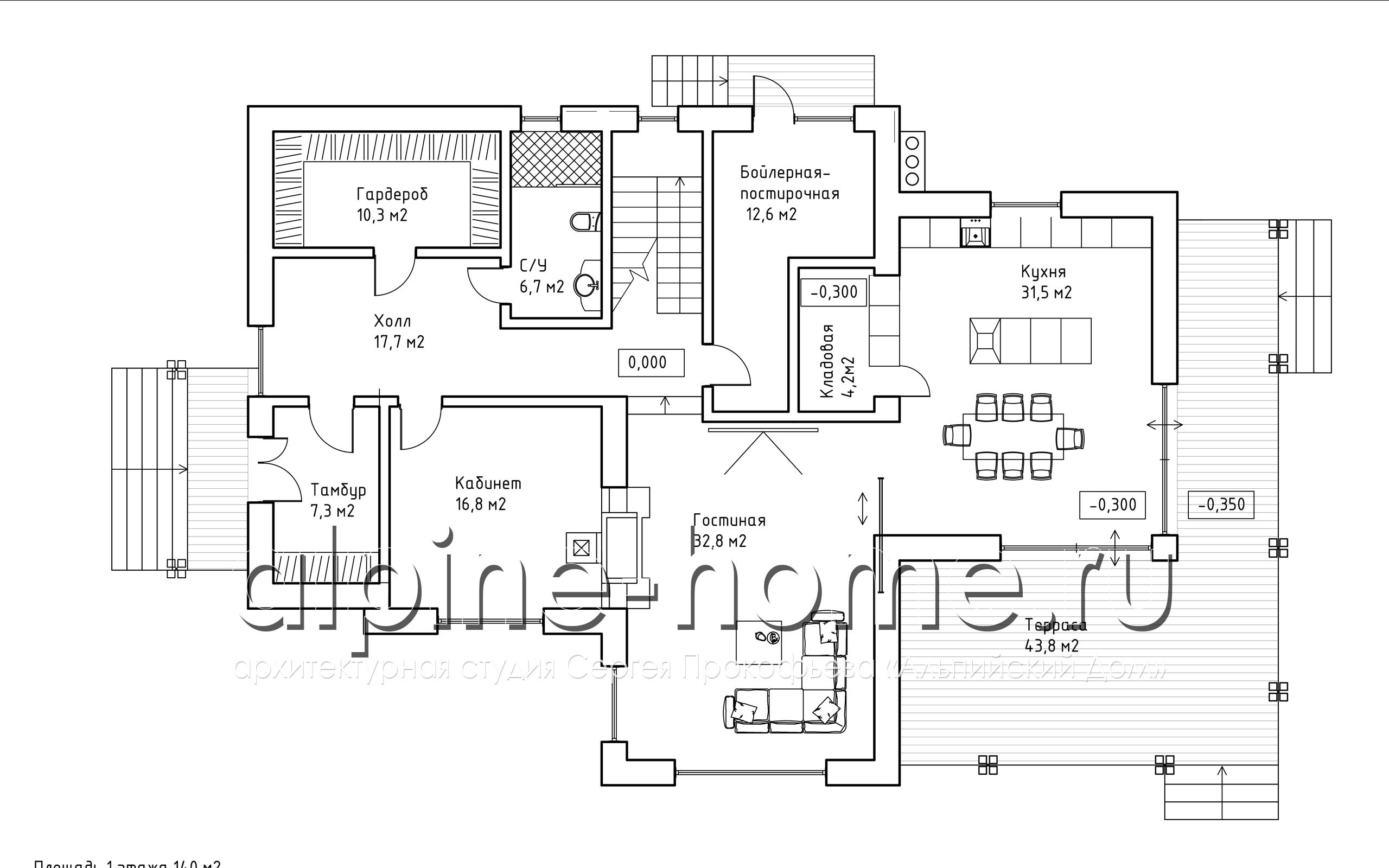КОМИС план 1-го этажа