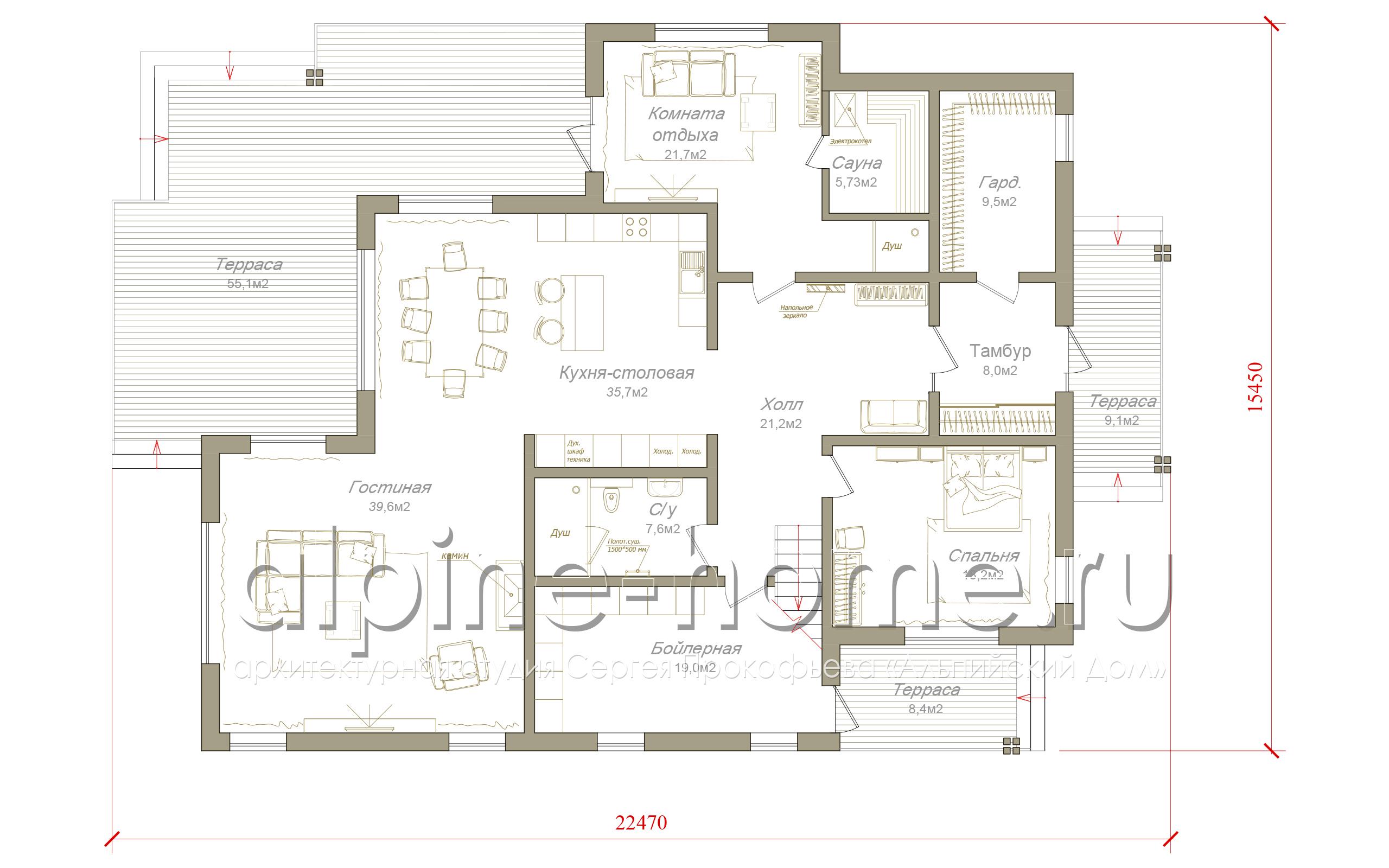 Истра 2 план 1-го этажа