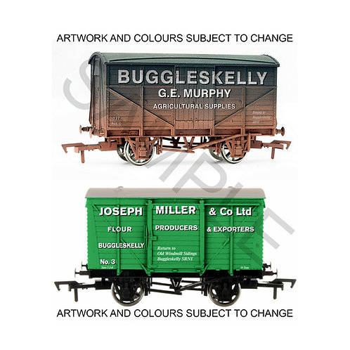 Buggleskelly G.E. Murphy & Joseph Miller OO Gauge Railway Wagons Vans Trucks
