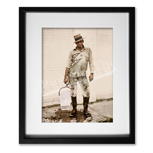 Ice Delivery Man, Texas 1928
