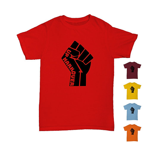 Will Hay  - Up Narkover - Revolution Fist Tee - 5 Colours