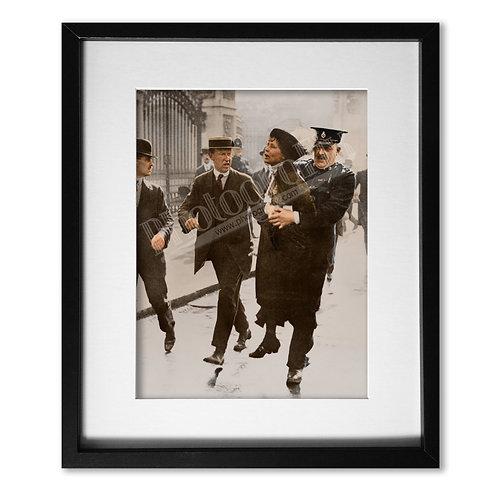 Emmeline Pankhurst - Arrest 1914
