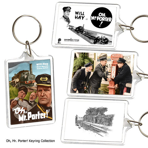 Oh Mr Porter (Will Hay) Keyring Collection