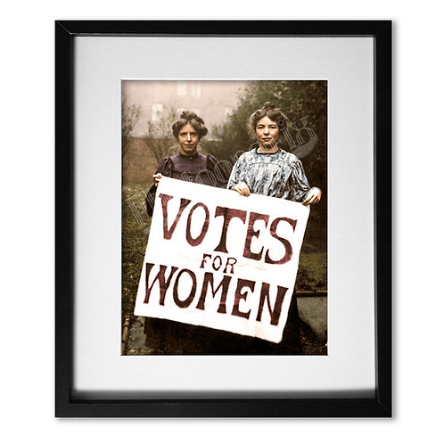 Votes for Women, Suffragettes