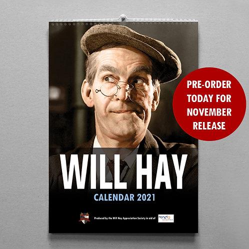 Will Hay Calendar - 2021 - PRE ORDER NOW