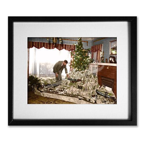 Model Railway Christmas Tree, 1936