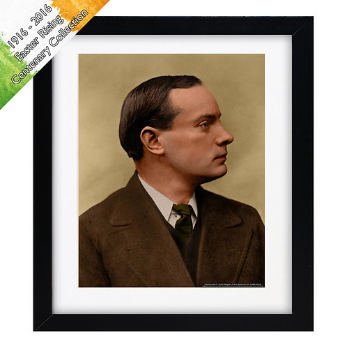"""Patrick Pearse (1916 Easter Rising) 10""""x8"""""""