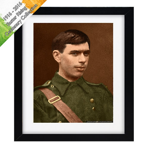 """Seán Heuston (1916 Easter Rising) 10""""x8"""""""