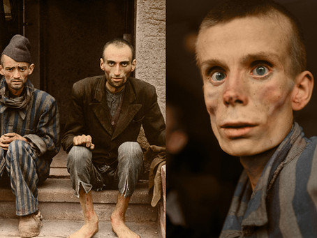 The Horror of the Holocaust in Colour