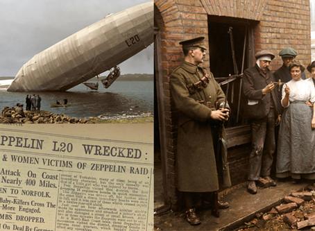 Air Raids of WW1: Zeppelins in Colour