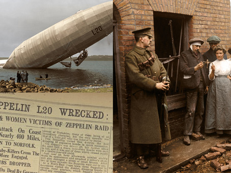 Air Raids of WW1: Zeppelins in Colour