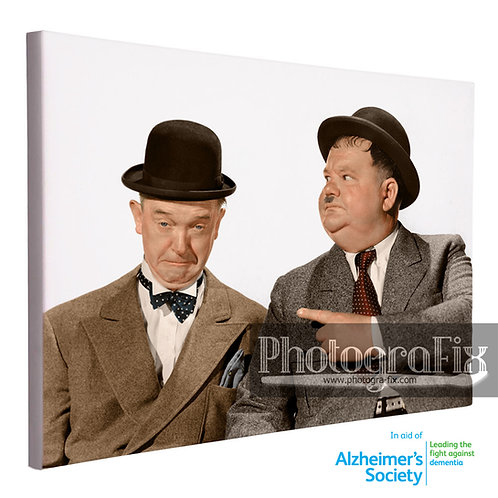 Laurel & Hardy Canvas