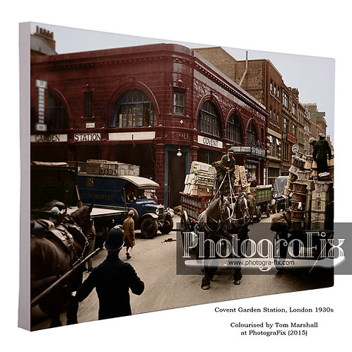 Covent Garden (1930s) Canvas