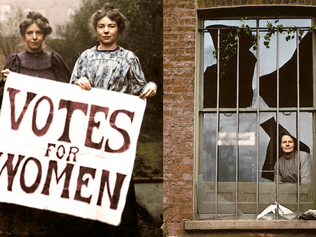 100 Years on: Women's Suffrage in Colour