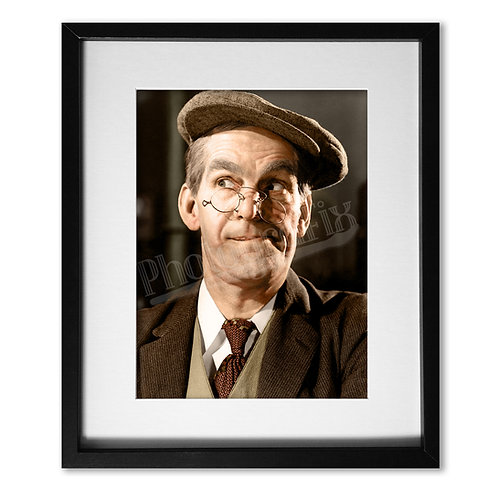 Will Hay - Hey Hey USA Portrait Colourised Print