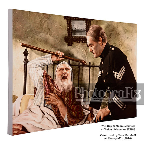 Ask a Policeman (Will Hay, Moore Marriott) Canvas