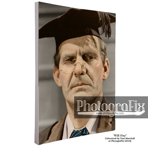 Will Hay as the Schoolmaster (Canvas)