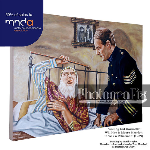 Will Hay / Old Harbottle Painting (300 Ltd Ed)