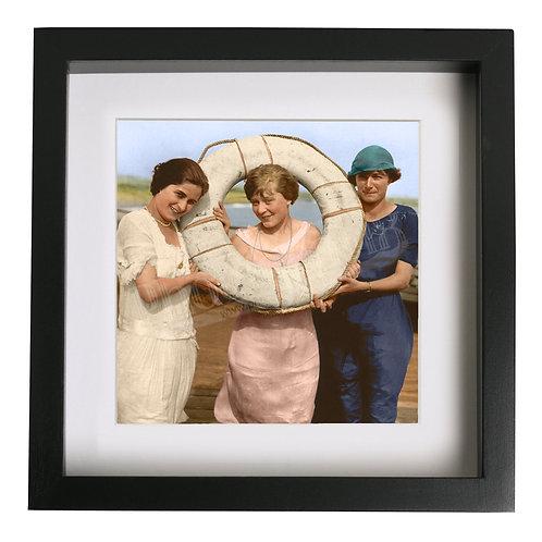International Beauty Show, Folkestone 1921 - Colourised Print