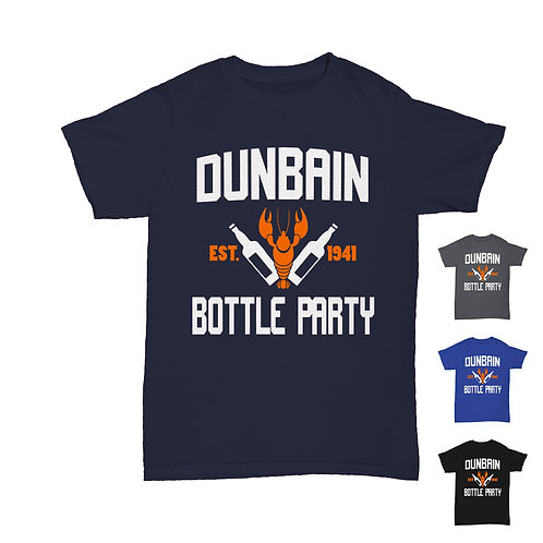 Will Hay - Dunbain Bottle Party T-Shirt Tee - 4 Colours