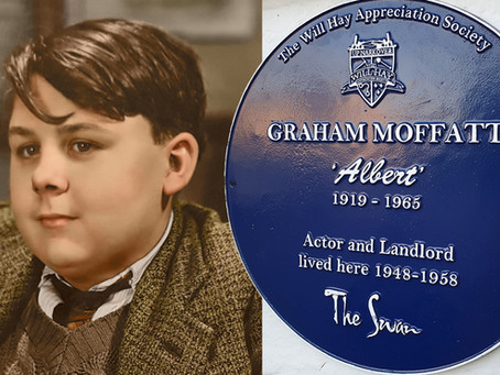 A Blue Plaque for Graham Moffatt - 'Britain's Favourite Fat Boy'