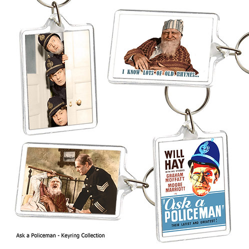 Ask a Policeman (Will Hay) Keyring Collection