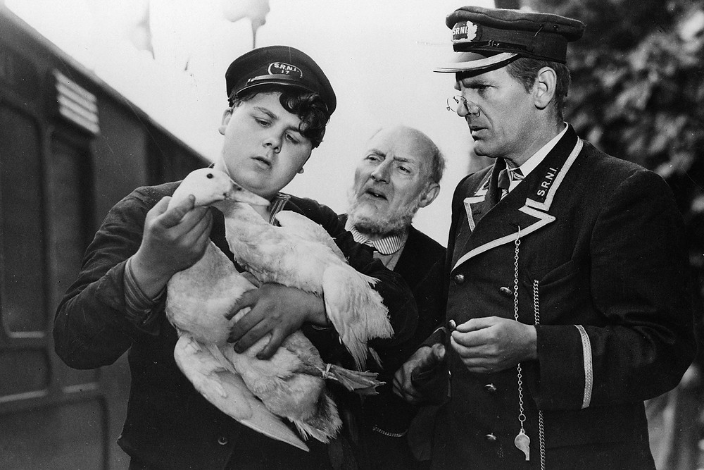Graham Moffatt, Moore Marriott and Will Hay in 'Oh, Mr. Porter!' (1937)