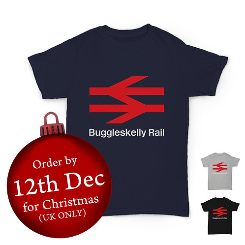 Will Hay Tee - Buggleskelly Rail T-Shirt - 3 Colours