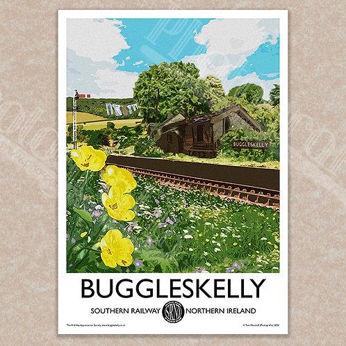 Buggleskelly (Oh, Mr. Porter!) - Vintage Style - Poster / Magnet / Postcard