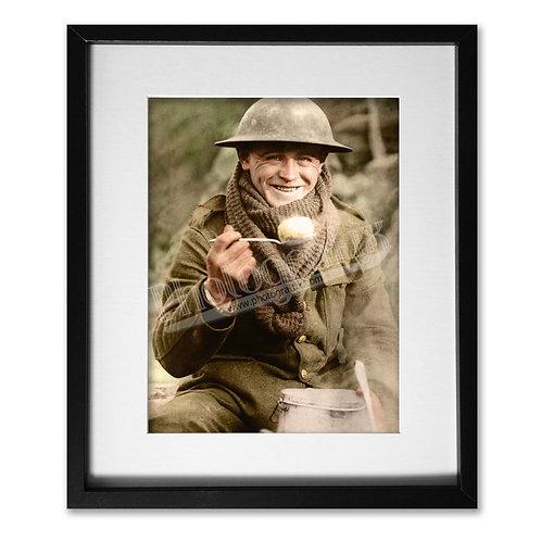 Unknown British Tommy - WW1 Soldier