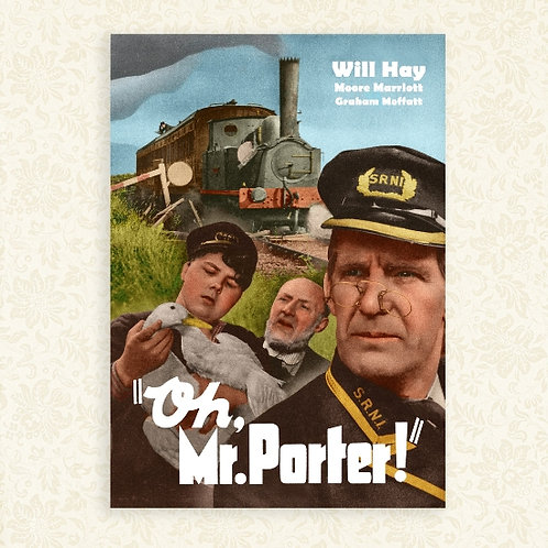 Oh, Mr. Porter! (Will Hay) Poster