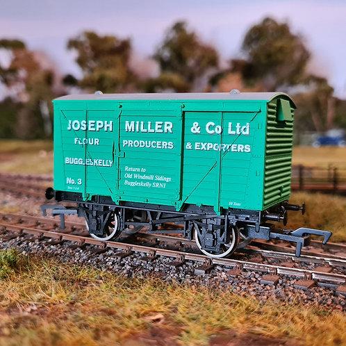 Joseph Miller OO Gauge Railway Wagon Van (Oh Mr Porter)