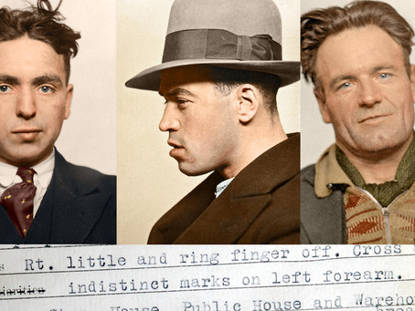 'Bad Characters' Criminals in Colour