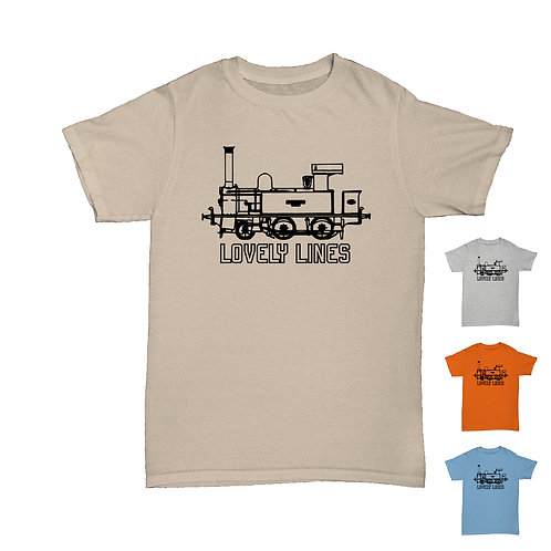 Will Hay  - Gladstone 'Lovely Lines' from Oh Mr Porter! Railway Tee - 4 Colours
