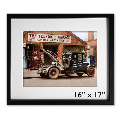 Teesdale Garage, Nottingham, 1930s