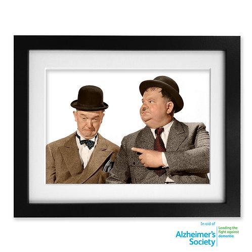 Laurel & Hardy Print
