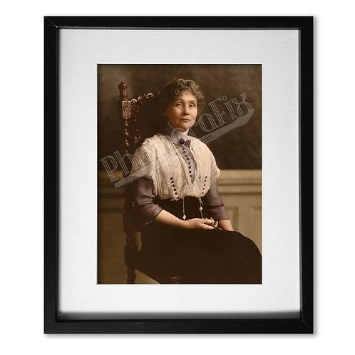 Emmeline Pankhurst, Suffragette Leader