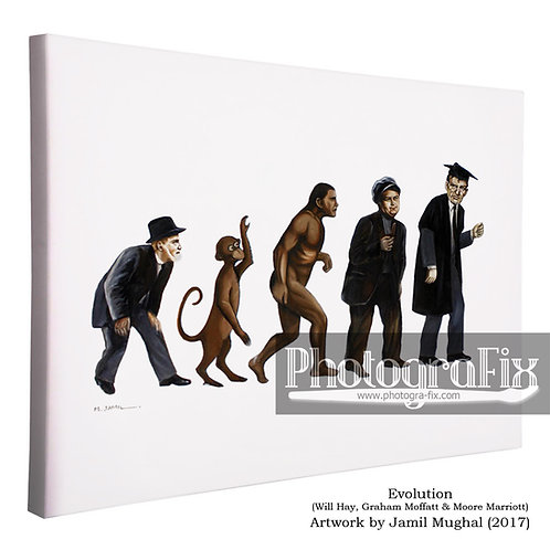 Evolution (Will Hay) - Canvas