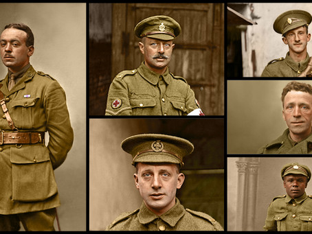 The Lost Tommies in Colour