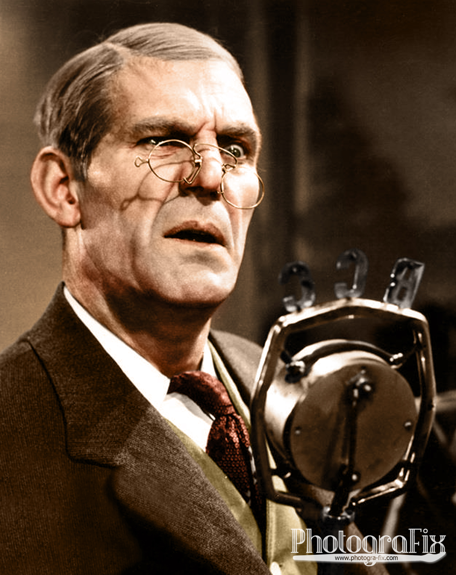 Will Hay in 'Hey! Hey! USA!'