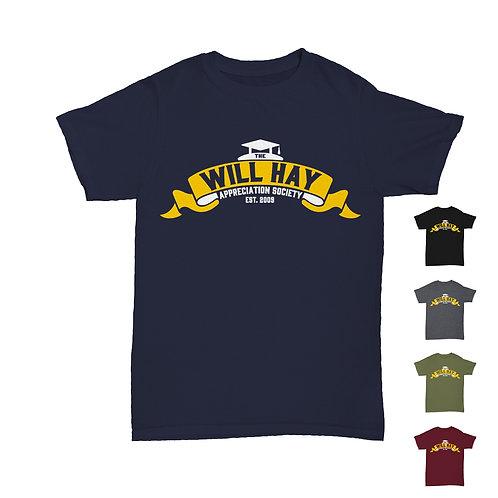 Will Hay Appreciation Society 2021 T-Shirt Tee - 5 Colours