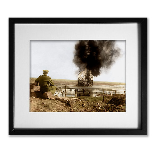Somme 1916: Explosion