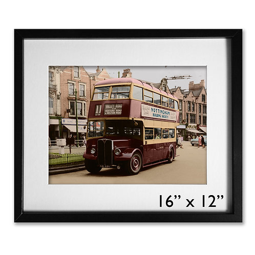 Carrington St. Nottingham Bus, 1960s