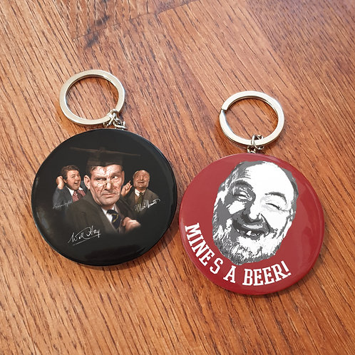 Will Hay Bottle Opener Keyrings