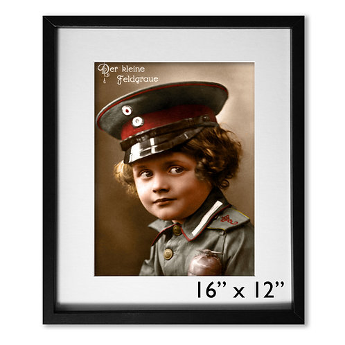 Der Kleine Feldgraue (WW1 German Boy)