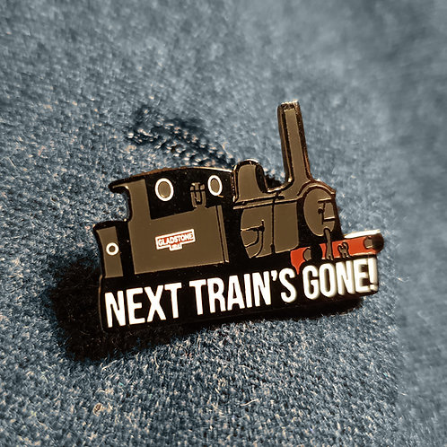 Gladstone from Oh, Mr. Porter! (Will Hay) Railway Enamel Pin Badge